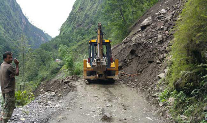 Kedarnath route resume but heavy rain forecast by MET