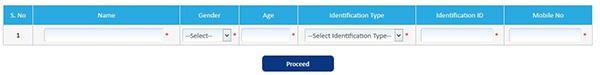 Char Dham Online Registration Details Form
