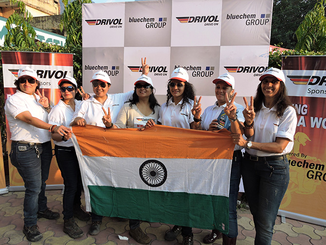 7 Women ride to Mana Pass in Uttarakhand