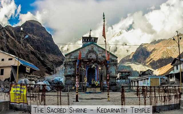 A new route for Kedarnath has been found