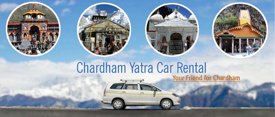 Rent a Car for Chardham Yatra