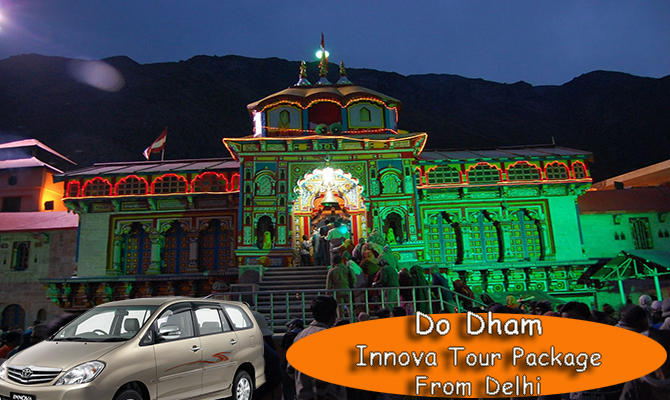 Do Dham Tour Package by Innova