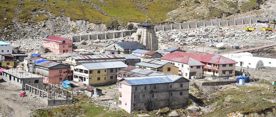 Kedarnath at 11,755 ft