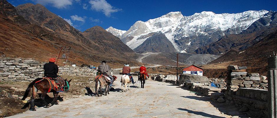 Route to Kedarnath