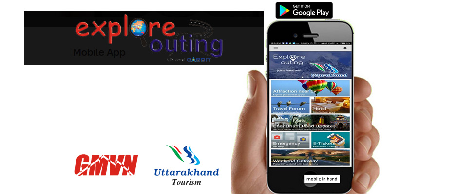Explore Outing Mobile App for Chardham Yatra