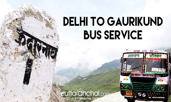 Kedarnath Bus Serivice from Delhi