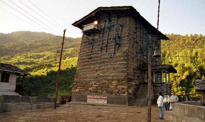 Kharsali (Winter Seat of Yamunotri)