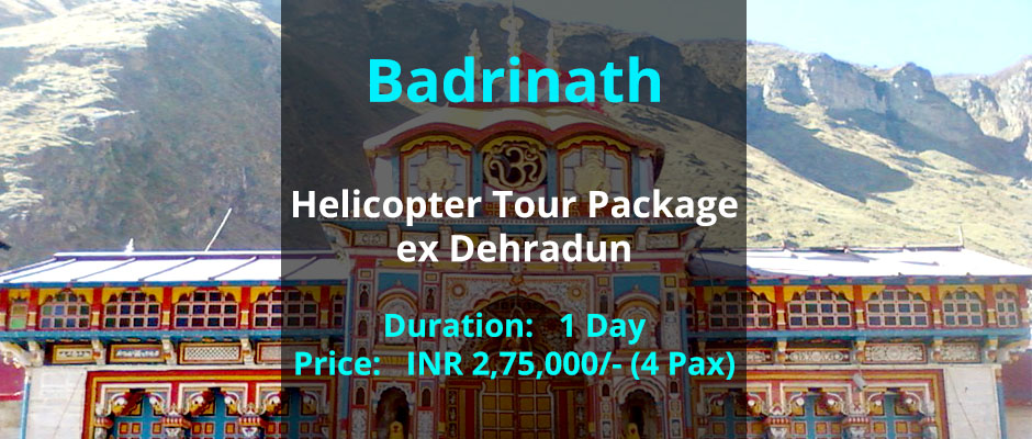 Book Badrinath Helicopter Package
