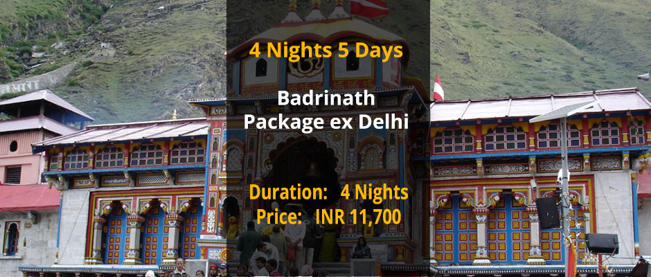 Badrinath Package from Delhi