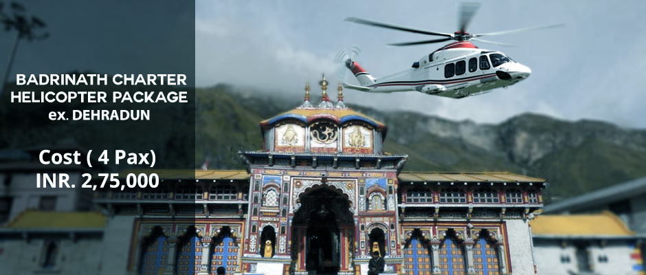 Book Badrinath Charter Helicopter Package