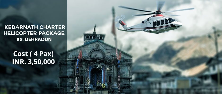 Book Kedarnath Charter Helicopter Package
