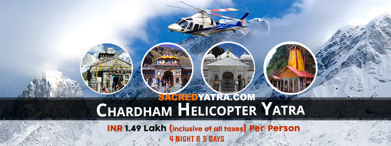 Chardham Helicopter Tour from Dehradun