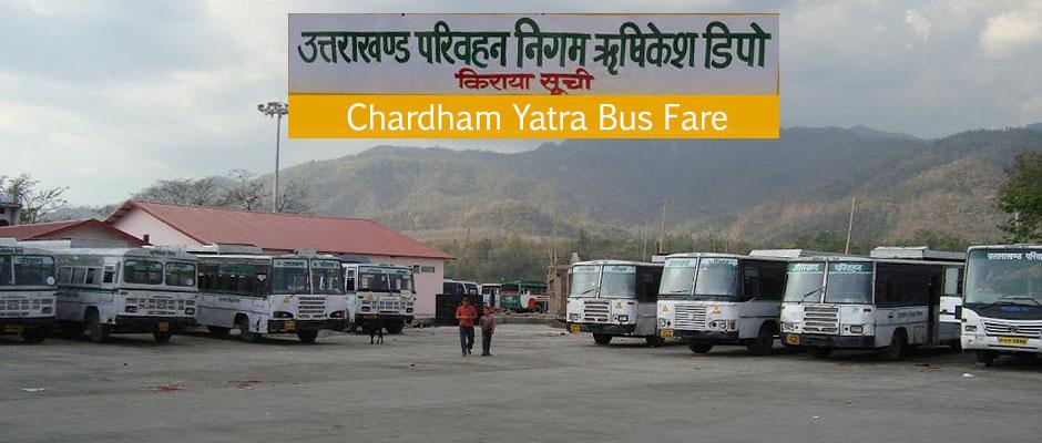 Chardham Yatra Bus Fare