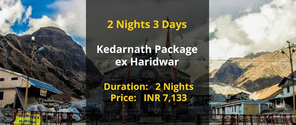 Kedarnath from Haridwar @ low cost