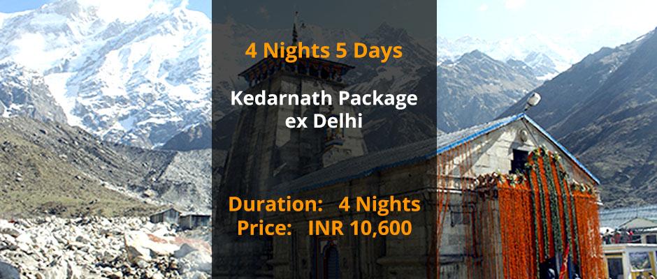 Kedarnath Package from Delhi