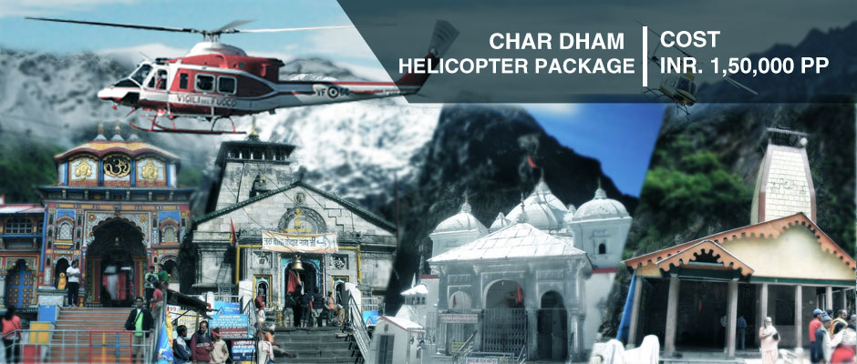 Book Chardham Helicopter Package
