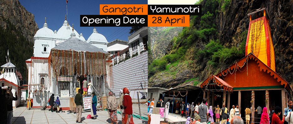 Gangotri & Yamunotri Dham will open on 28 April