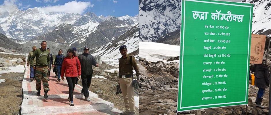 7000 pilgrims accommodations at Kedarnath