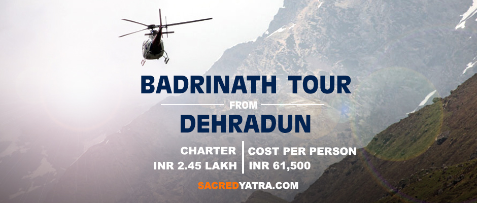 Badrinath Helicopter tour from Dehradun