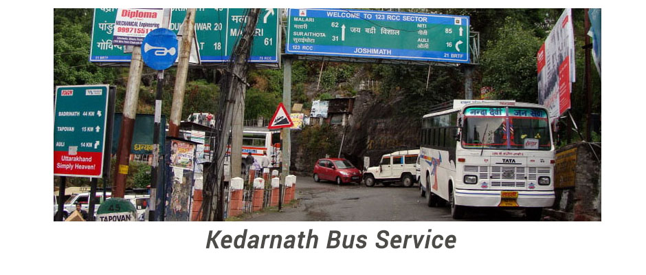 Kedarnath Bus Service