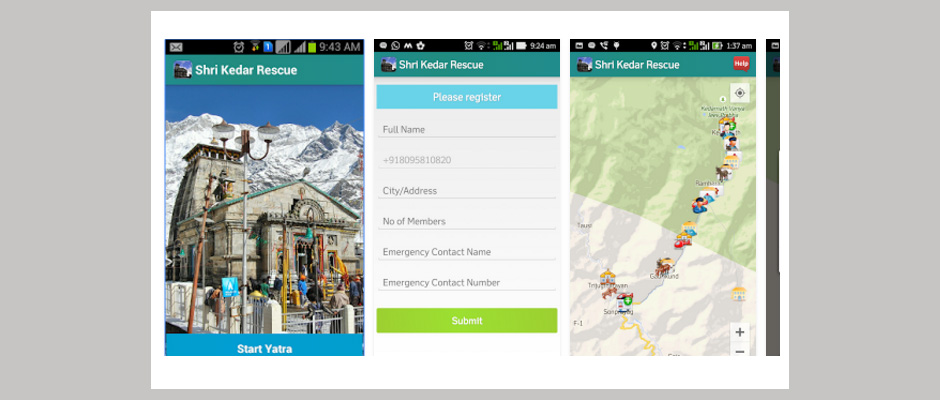 Shri Kedarnath Rescue App