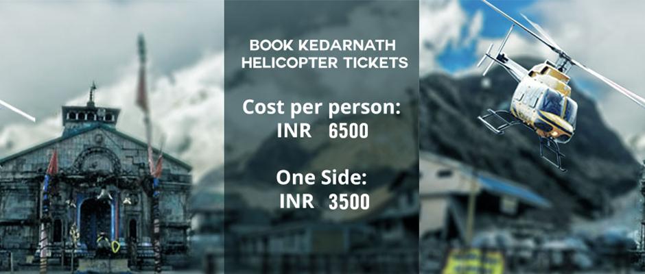 Book Kedarnath Helicopter Ticket