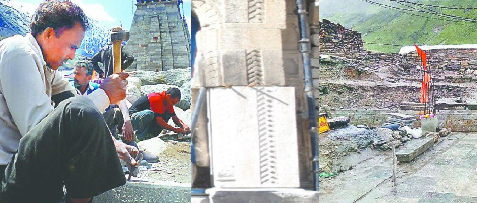 ASI Craftsmen turning bolders into beautiful crafts in Kedarnath