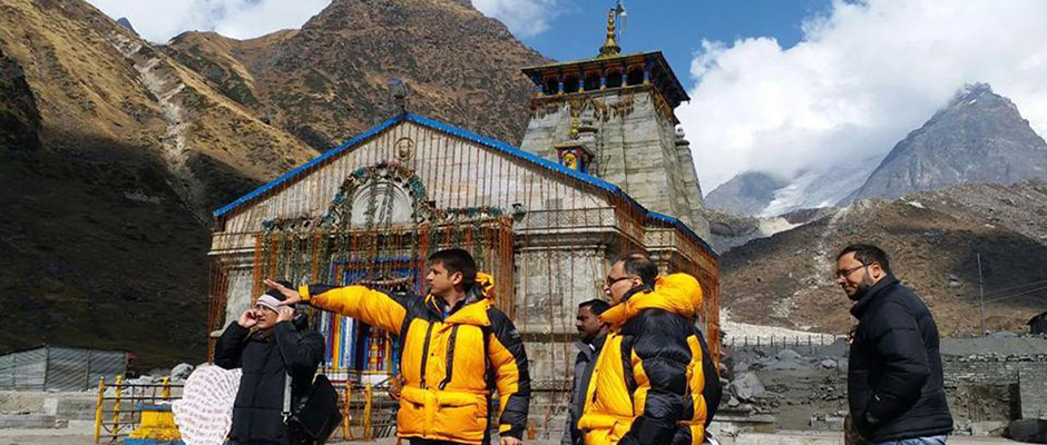 Drones keeping an eye on Kedarnath reconstruction work