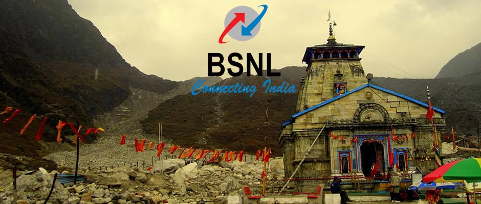 BSNL 3G 4G Service in Kedarnath
