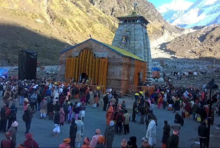Kedarnath Temple 2018 Opening Day Photo