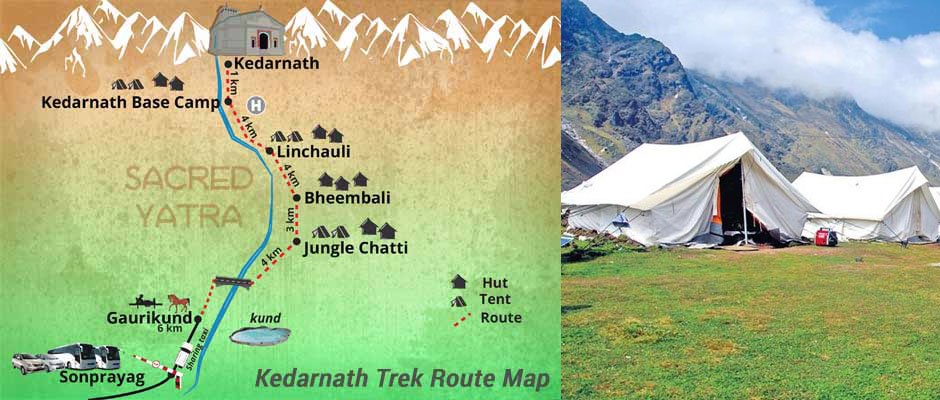 Local youth will provide tents for pilgrims in Kedarnath route