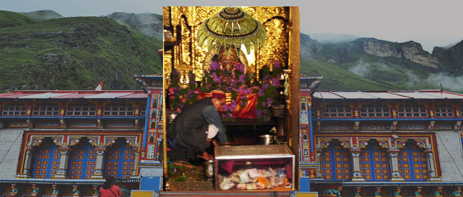 New Chatra for Lord Badrinath