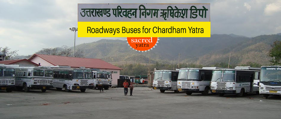 Roadways Buses for Chardham Yatra