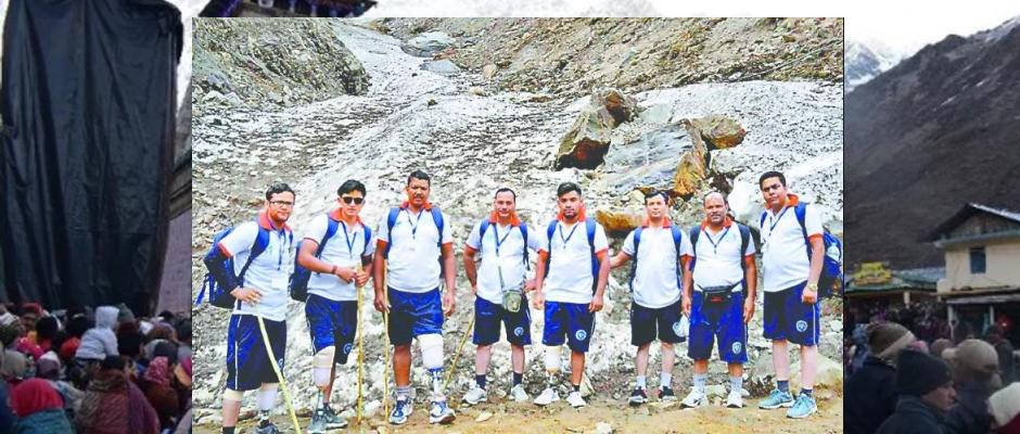 Disabled pilgrims trek to Kedarnath with artificial leg