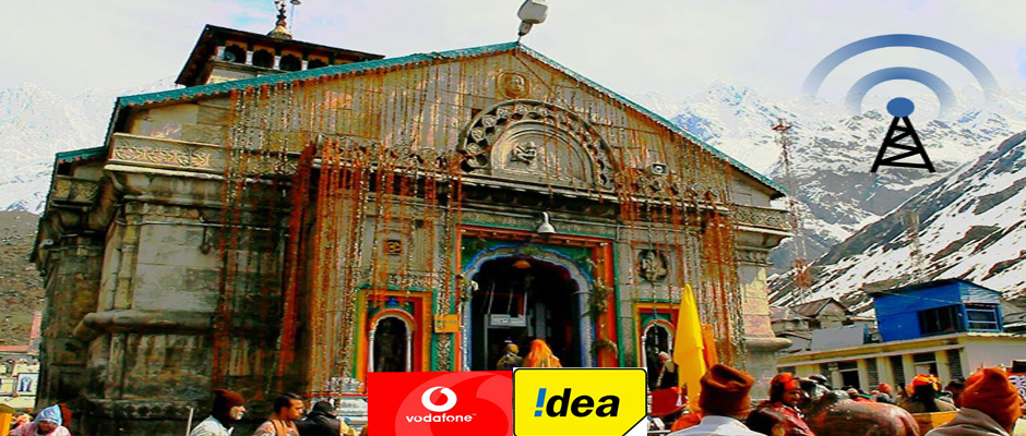 Idea and Vodafone services now available in Kedarnath