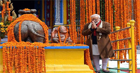 PM Modi will visit Kedarnath in October