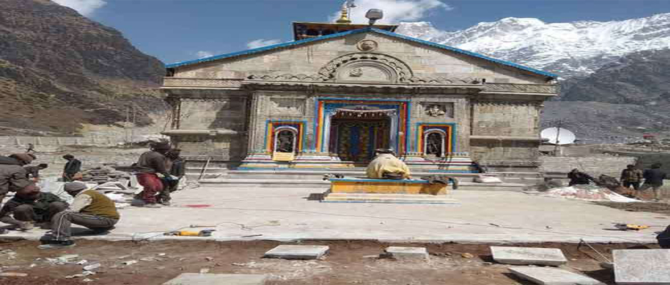 Stone Construction Work in Kedarnath