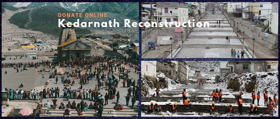 Donate Online Kedarnath Reconstruction