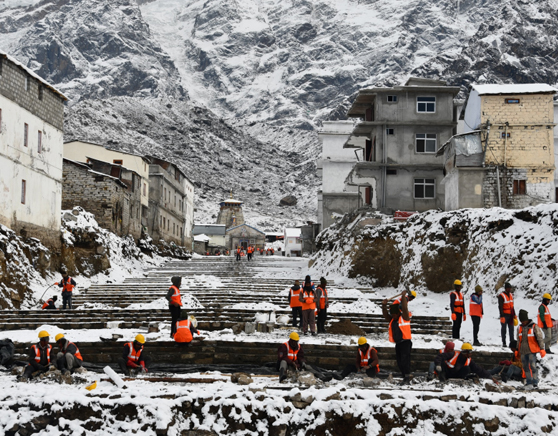 Hardship faced during reconstruction in Kedarnath