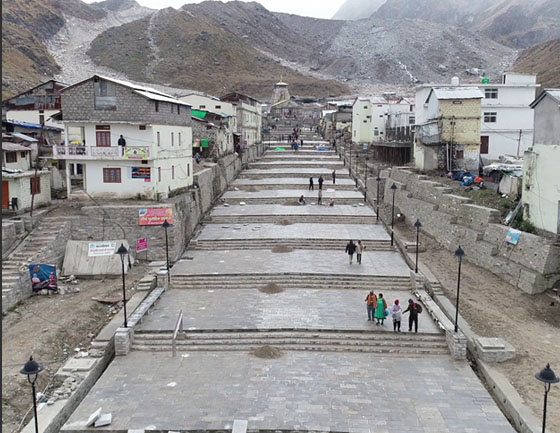 Kedarnath new approach road