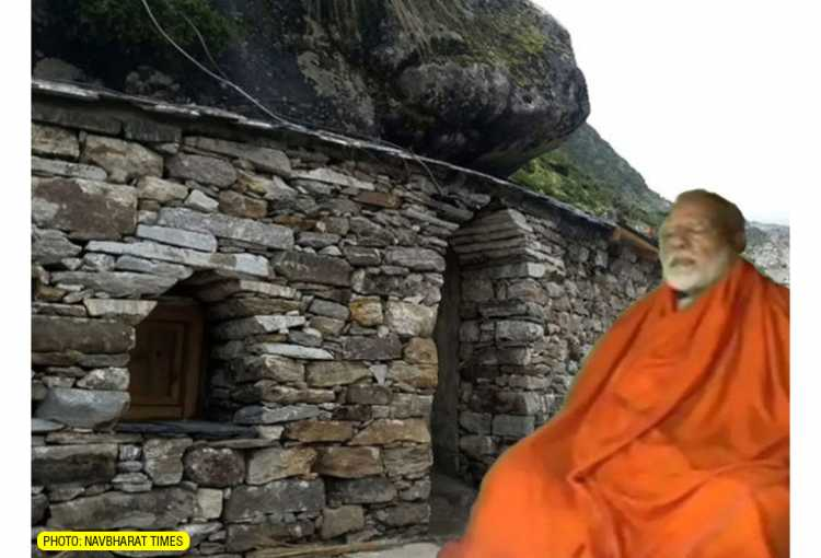 PM Modi at Rudra Cave Kedarnath