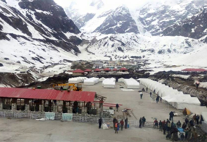 Tents Colony by Nim for Devotees & Pilgrims