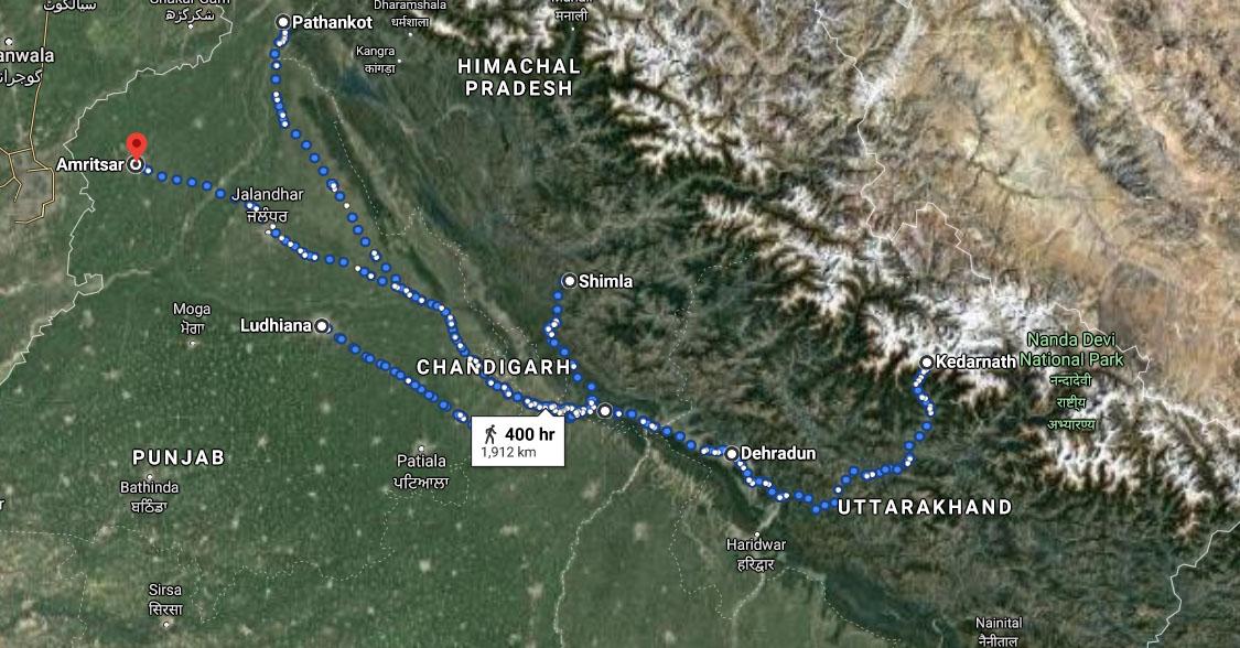 Dehradun To Kedarnath