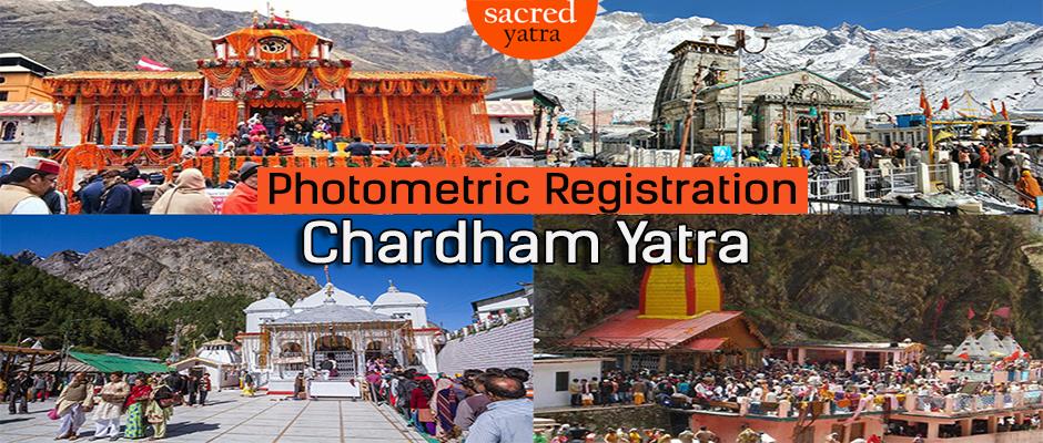 Photometric Regristration for Chardham Yatra